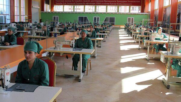 Новое швейное предприятие Шарофат в Гиссаре. Архивное фото - Sputnik Таджикистан