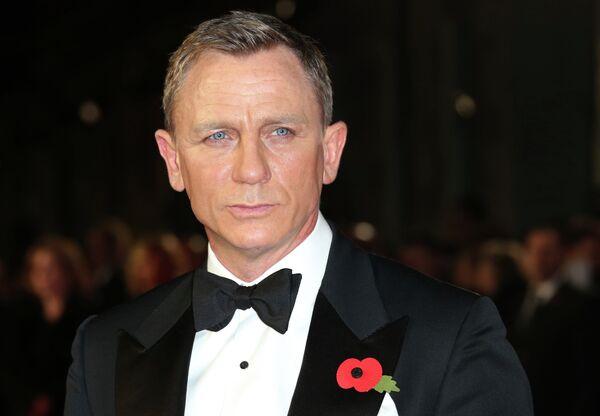 Агент 007 Дэниэл Крэйг. Архивное фото. - Sputnik Таджикистан