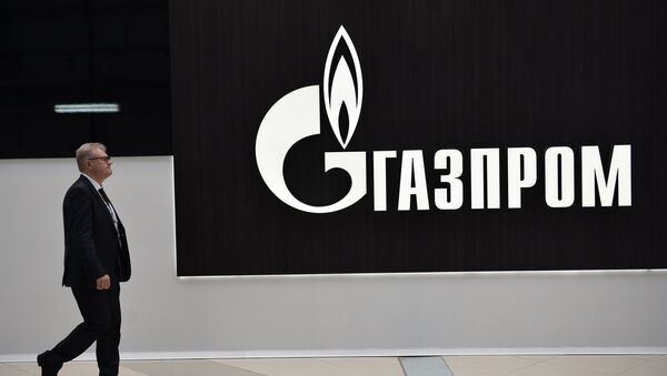 Стенд компании Газпром, архивное фото - Sputnik Таджикистан
