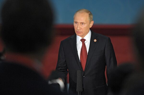 Президент России Владимир Путин. Архивное фото - Sputnik Таджикистан