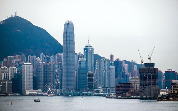 Город Гонконг. Архивное фото. - Sputnik Таджикистан