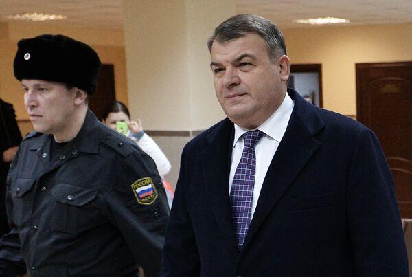 Бывший министр обороны Анатолий Сердюков. Архивное фото - Sputnik Таджикистан