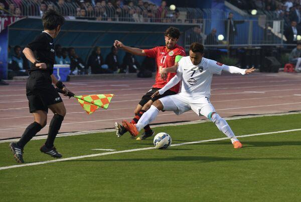 Финальный матч в Душанбе на Кубок Азиатской конфедерации футбола между командами Истиклол - Джохор Дарул Такзим - Sputnik Таджикистан