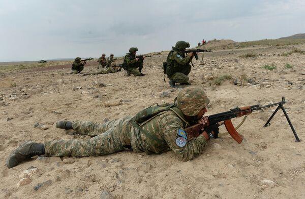 Учения ОДКБ Нерушимое братство - 2015 в Армении. Архивное фото - Sputnik Таджикистан