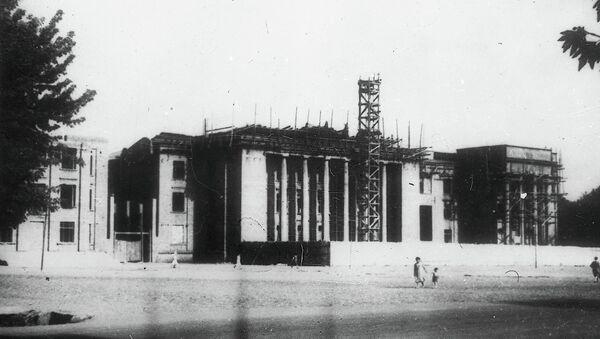 Строительство Дома правительства в 1947 году - Sputnik Таджикистан