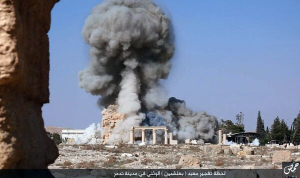 Боевики ИГ взоврали древний храм в городе Пальмира. Архивное фото. - Sputnik Таджикистан