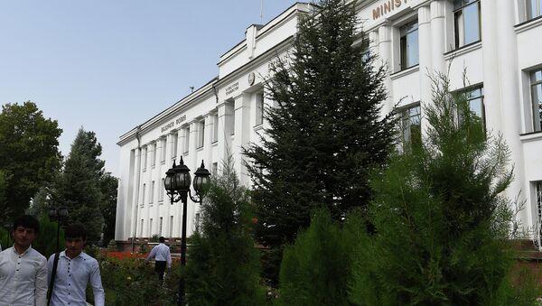 Здание Министерства финансов РТ - Sputnik Таджикистан