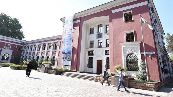 Здание Национального банка Таджикистана, архивное фото - Sputnik Таджикистан
