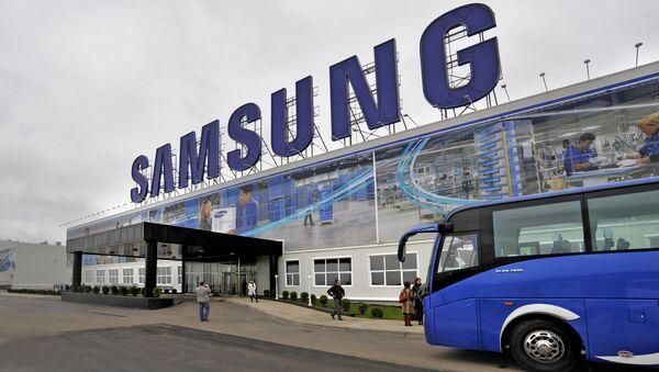 Завод корейской компании Samsung Electronics. Архивное фото - Sputnik Таджикистан