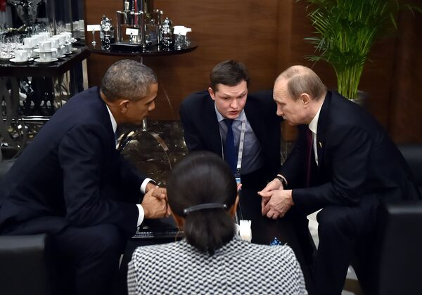 Президент РФ В.Путин принимает участие в саммите G20 в Турции - Sputnik Таджикистан