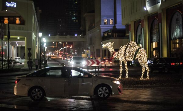 Город Дубай. Архивное фото. - Sputnik Таджикистан