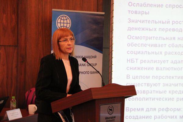 Презентация доклада Всемирного банка об экономическом развитии Таджикистана - Sputnik Таджикистан