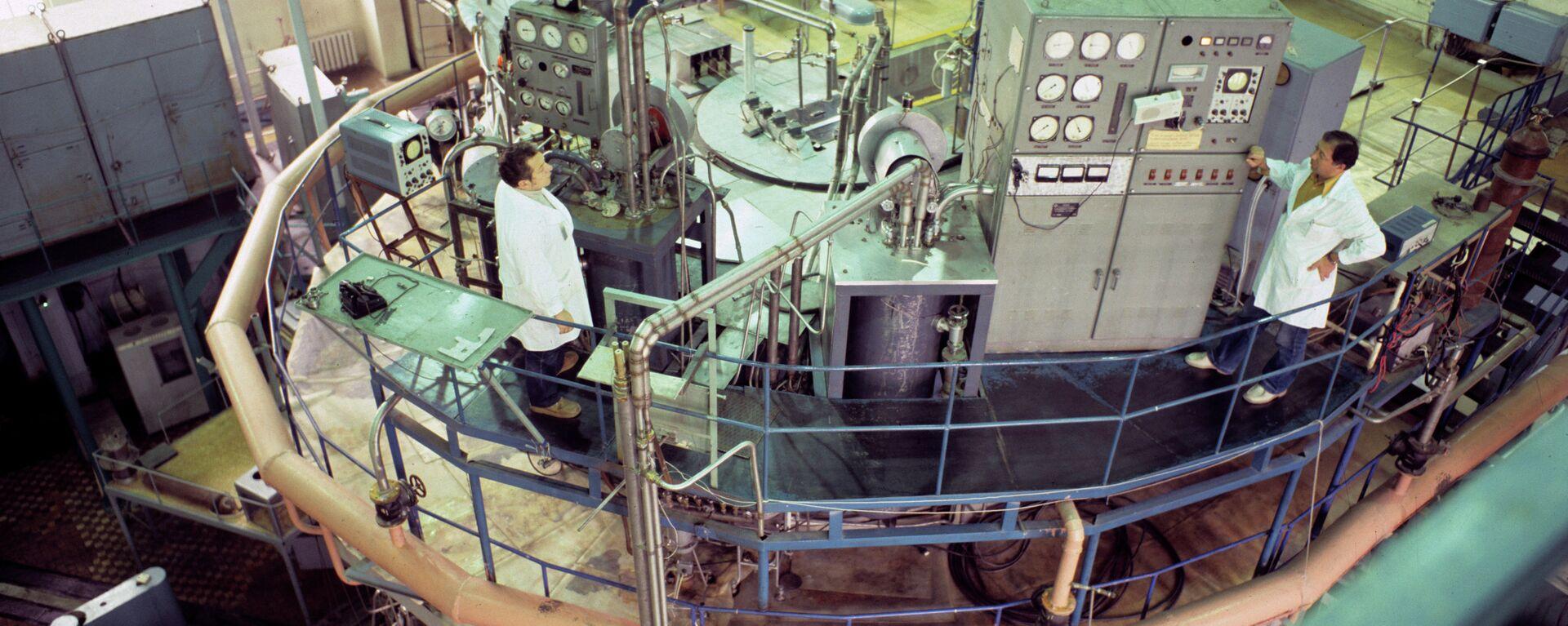 Ядерный реактор. Архивное фото - Sputnik Тоҷикистон, 1920, 19.04.2021