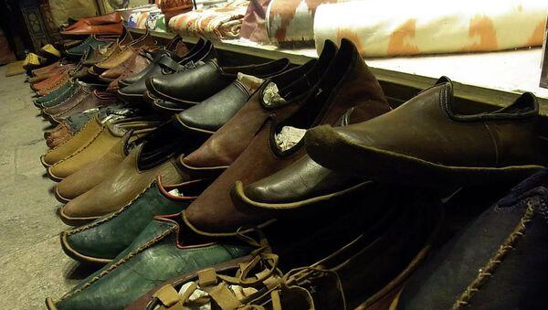 Обувь турецкого производства. Архивное фото - Sputnik Тоҷикистон