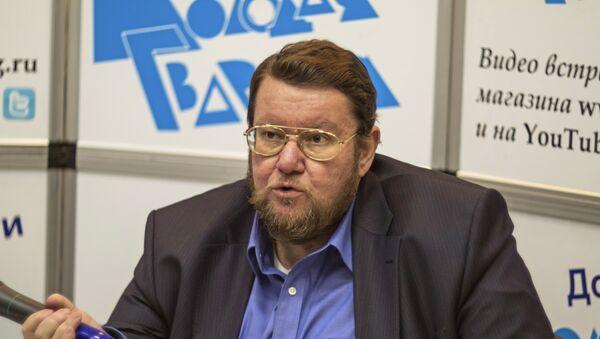 Президент научного центра Институт Ближнего Востока Евгений Сатановский. Архивное фото - Sputnik Таджикистан