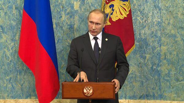 Это огромная ошибка – Путин о решении Турции сбить российский Су-24 в Сирии - Sputnik Таджикистан