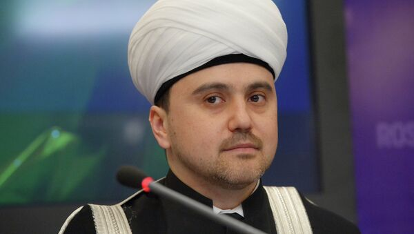 Заместитель председателя Совета муфтиев России Рушан Аббясов. Архивное фото. - Sputnik Таджикистан