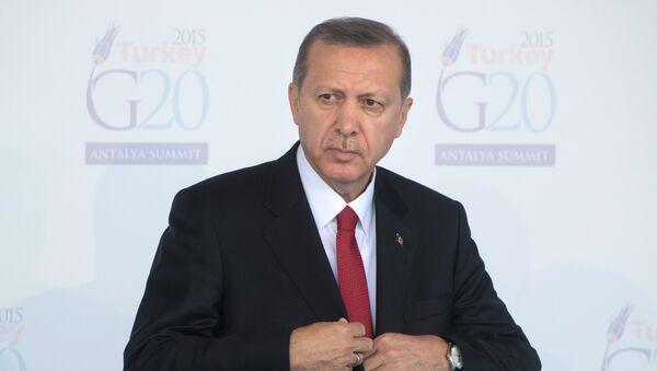 Президент Турции Тайип Эрдоган, архивное фото - Sputnik Тоҷикистон
