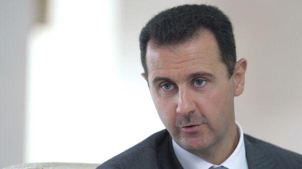 Президент Сирии Башар Асад. Архивное фото - Sputnik Тоҷикистон