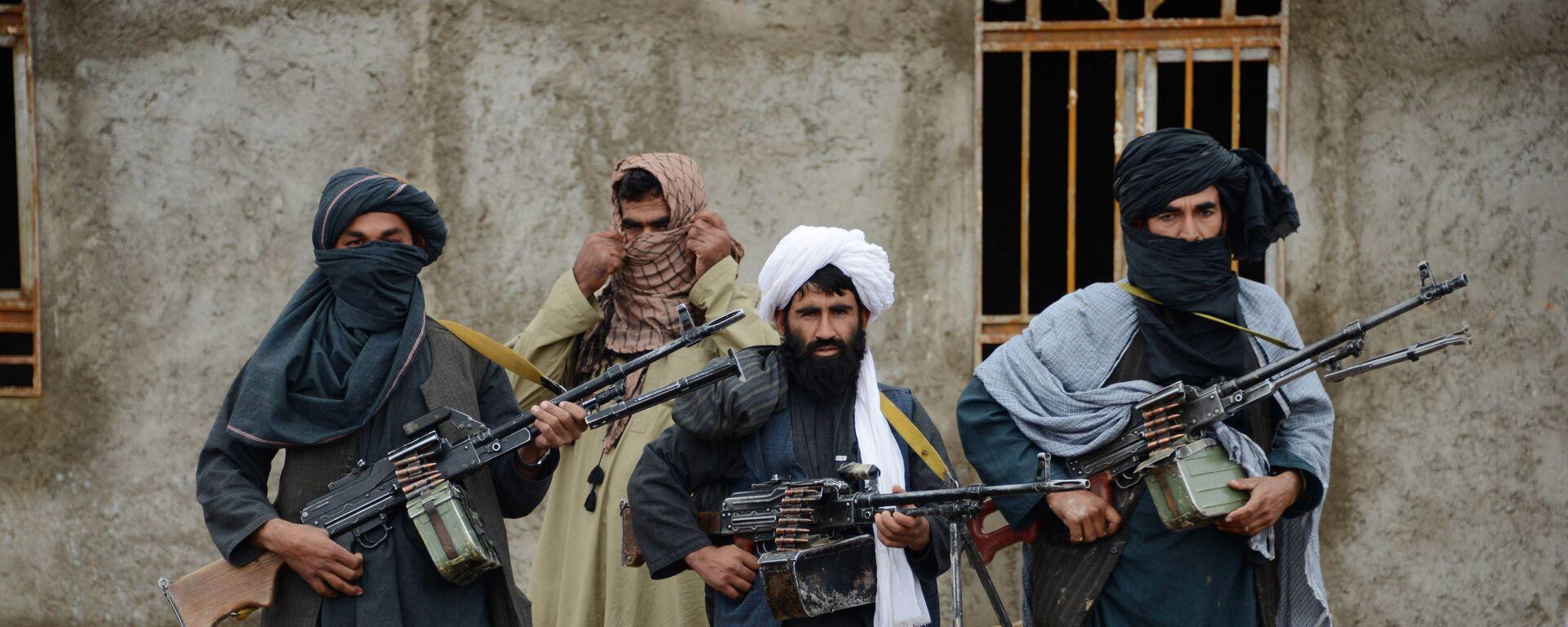 Афганские талибы, архивное фото - Sputnik Таджикистан, 1920, 09.07.2021