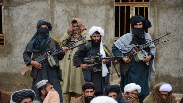 Афганские талибы, архивное фото - Sputnik Таджикистан