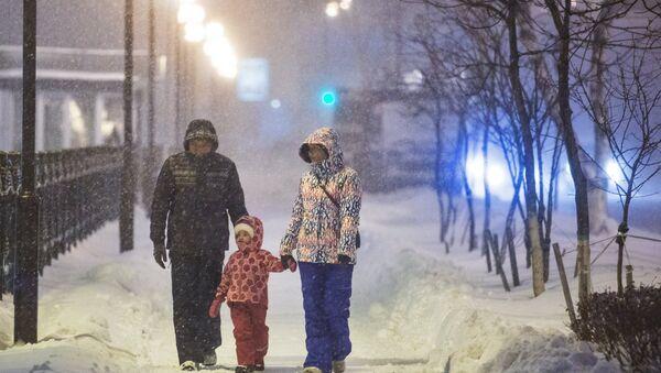 Снег. Архивное фото - Sputnik Таджикистан