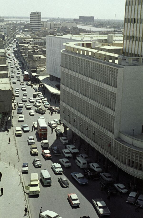 Улица Рашид в Багдаде. Архивное фото. - Sputnik Таджикистан