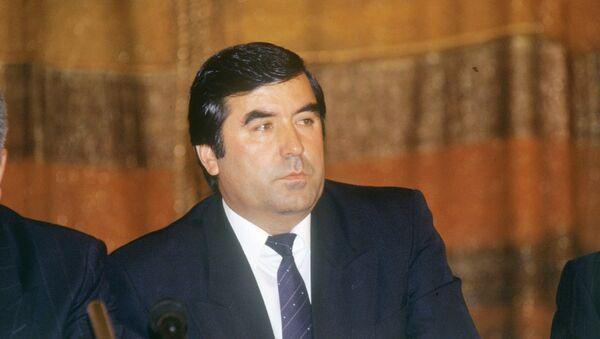 Председатель Верховного Совета Таджикистана Эмомали Рахмонов. Архивное фото. - Sputnik Тоҷикистон