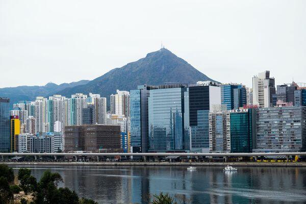 Вид на город Гонконг. Архивное фото. - Sputnik Таджикистан