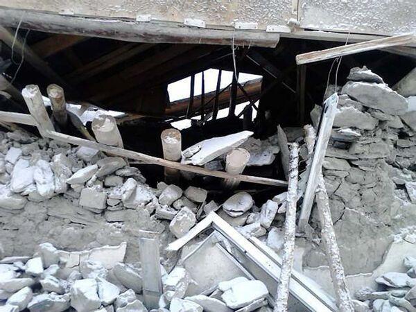 Последствия стихии в кишлаке Нусор. Архивное фото - Sputnik Таджикистан