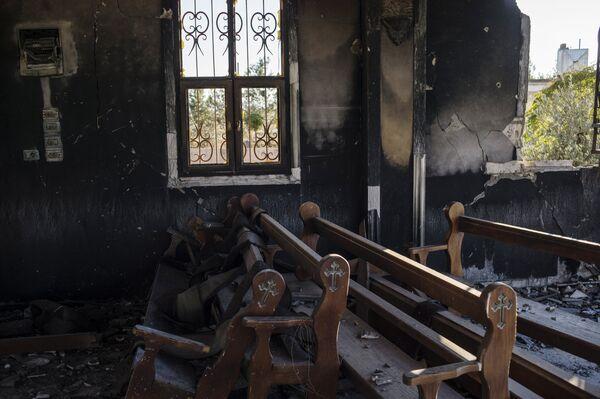 Деревни на северо-востоке Сирии, освобожденые от боевиков ИГ (ДАИШ) - Sputnik Таджикистан