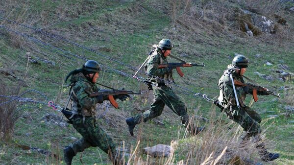 Учения спецназа. Архивное фото - Sputnik Таджикистан