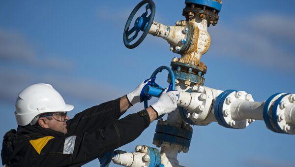 Вентиль газопровода, архивное фото - Sputnik Таджикистан