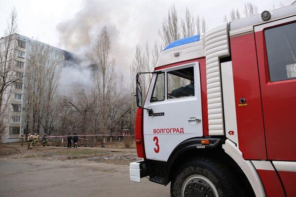 Взрыв бытового газа в многоэтажном доме в Волгограде - Sputnik Таджикистан