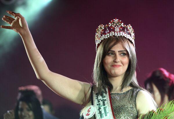 20-летняя победительница конкурса мисс Ирака, Шaйма Касем - Sputnik Таджикистан