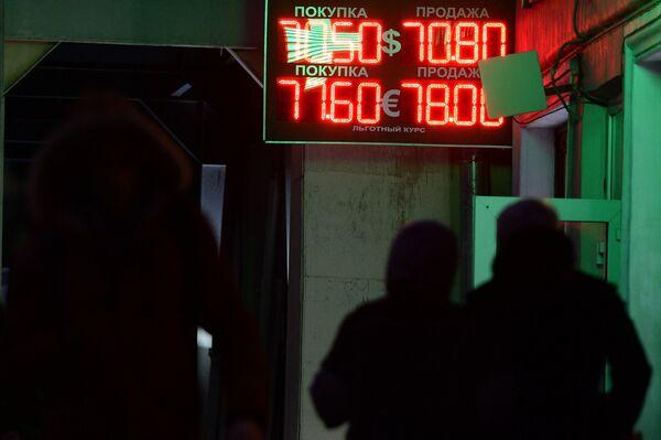 Курсы валют в Москве - Sputnik Таджикистан