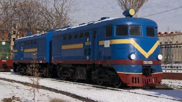 Тепловоз ТЭ2. Архивное фото - Sputnik Таджикистан