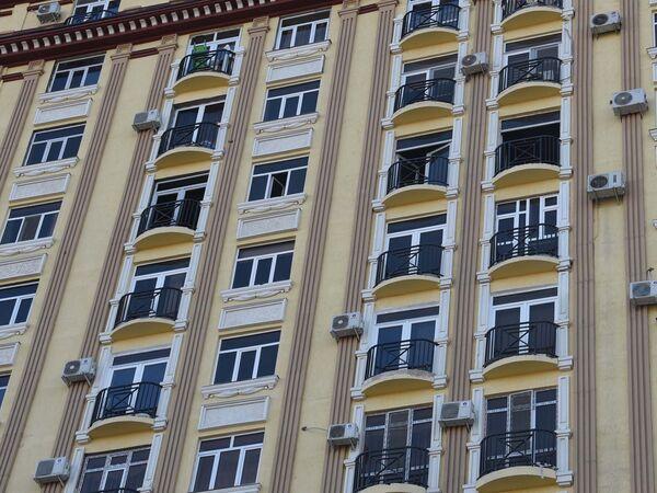 Дом, в котором утром 29 декабря произошел пожар - Sputnik Таджикистан