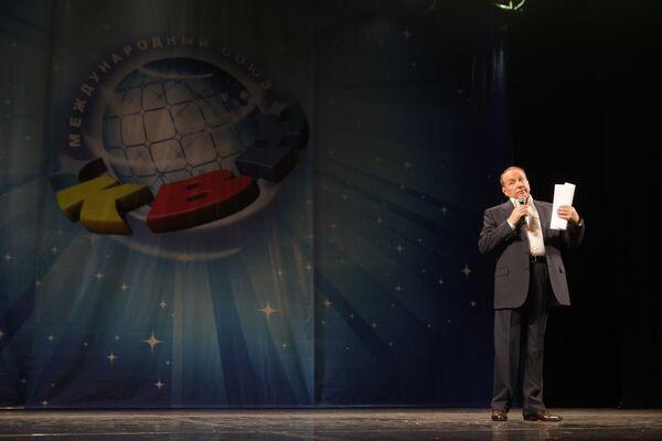 Президент Международного союза КВН Александр Масляков. Архивное фото - Sputnik Таджикистан