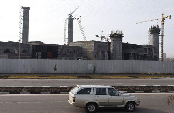 Строительство Центральной мечети в Душанбе - Sputnik Таджикистан