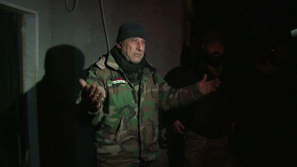 Замкомандира отряда армии САР поздравил соратников с освобождением Сальмы - Sputnik Таджикистан