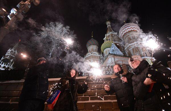 Новый год, архивное фото - Sputnik Таджикистан