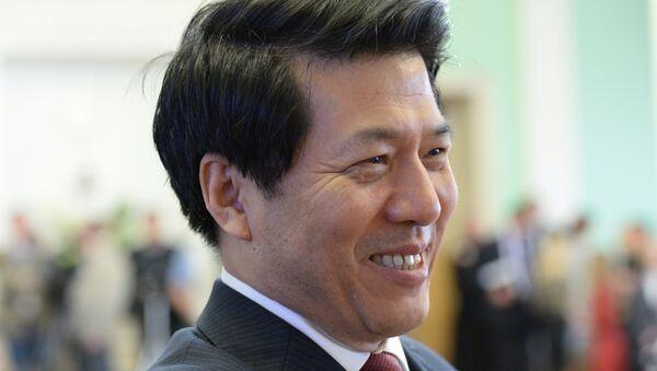 Посол КНР в РФ Ли Хуэй. Архивное фото - Sputnik Таджикистан