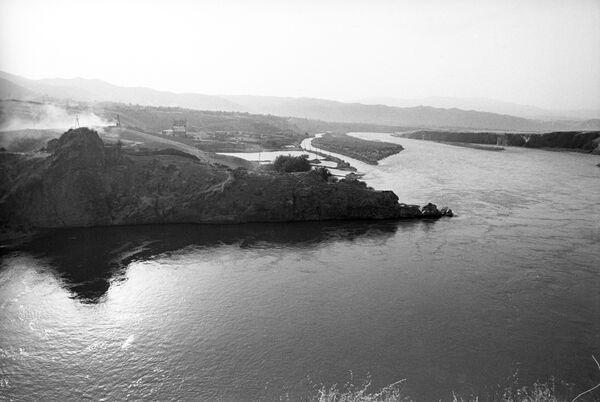Строительство Сангтудинской ГЭС на реке Вахш - Sputnik Таджикистан