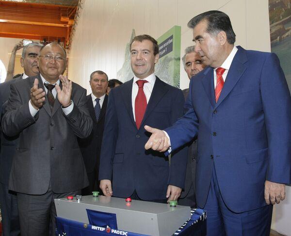 Второй день рабочего визита президента РФ Медведева в Республику Таджикистан - Sputnik Таджикистан