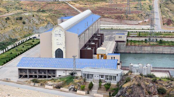 Сангтудинская ГЭС-1 в Таджикистане - Sputnik Тоҷикистон
