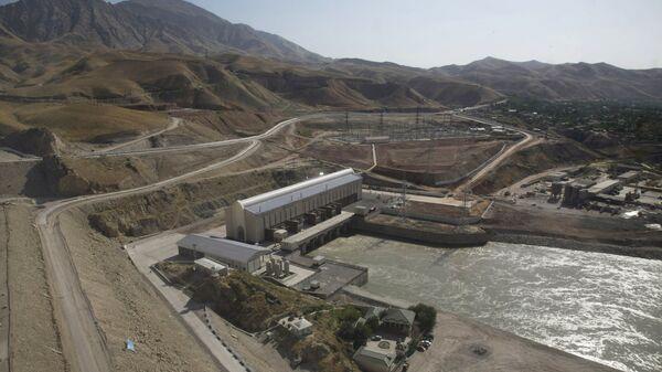 Сангтудинская ГЭС-1 на реке Вахш в Таджикистане, архивное фото - Sputnik Таджикистан