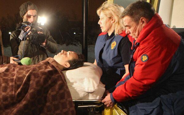 Пострадавший при взрыве в аэропорту Домодедово - Sputnik Таджикистан