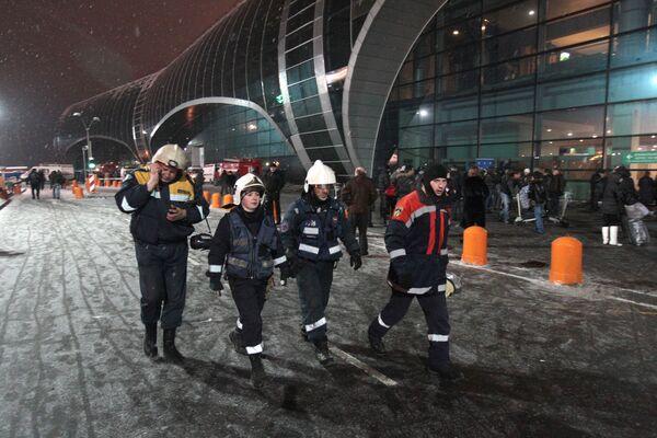 Взрыв в аэропорту Домодедово - Sputnik Таджикистан