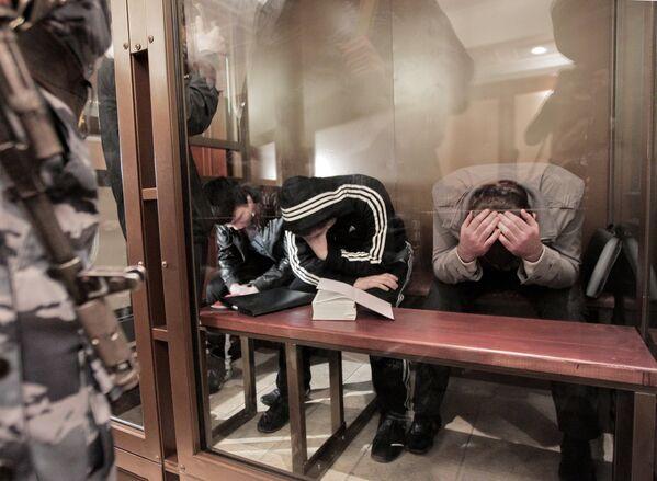 Рассмотрение дела о теракте в аэропорту Домодедово - Sputnik Таджикистан